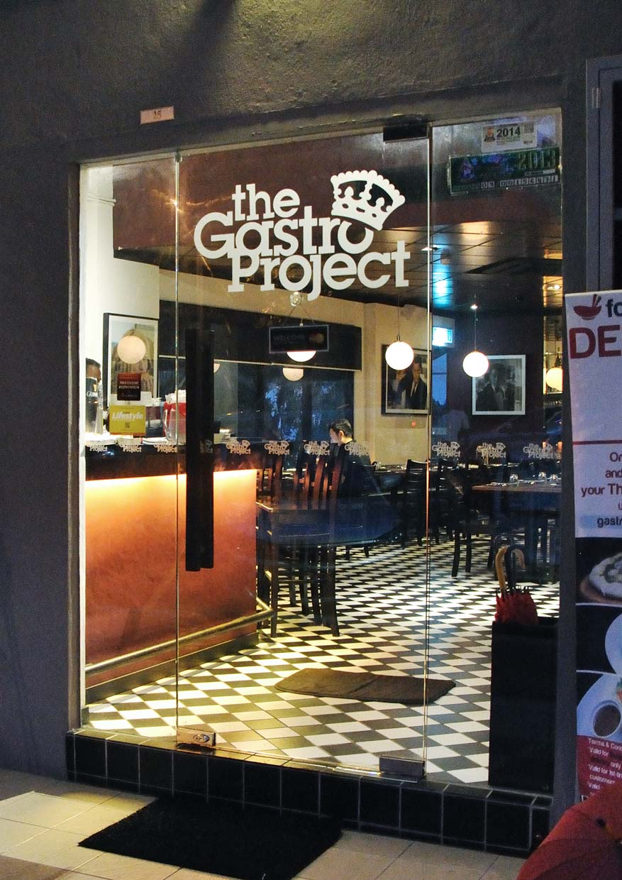 New Menu by Chef Sazali @ The Gastro Project, Petaling Jaya