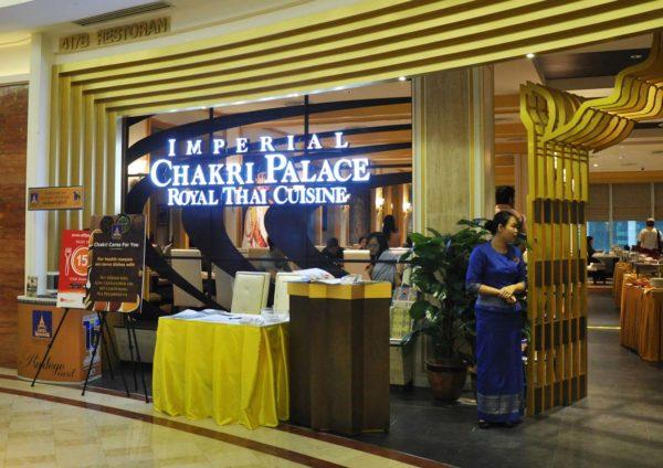 Berbuka Puasa with Tantalizing Tastes of Thailand 2015 @ Chakri Palace Thai Restaurant