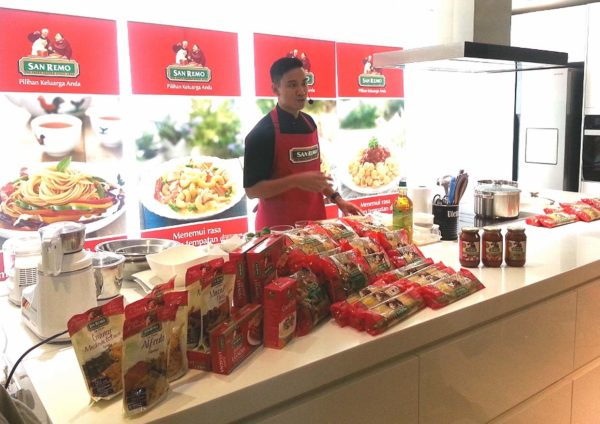 Raya Delights with Chef Collin Lim's San Remo Pasta Recipe