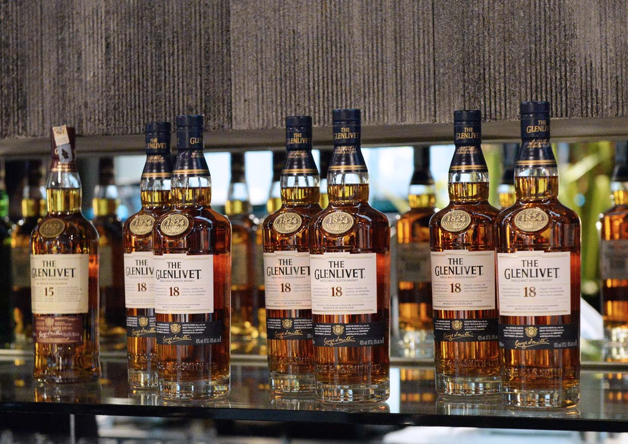 The Glenlivet Single Malt Whisky Winchester Collection 50 Years Old