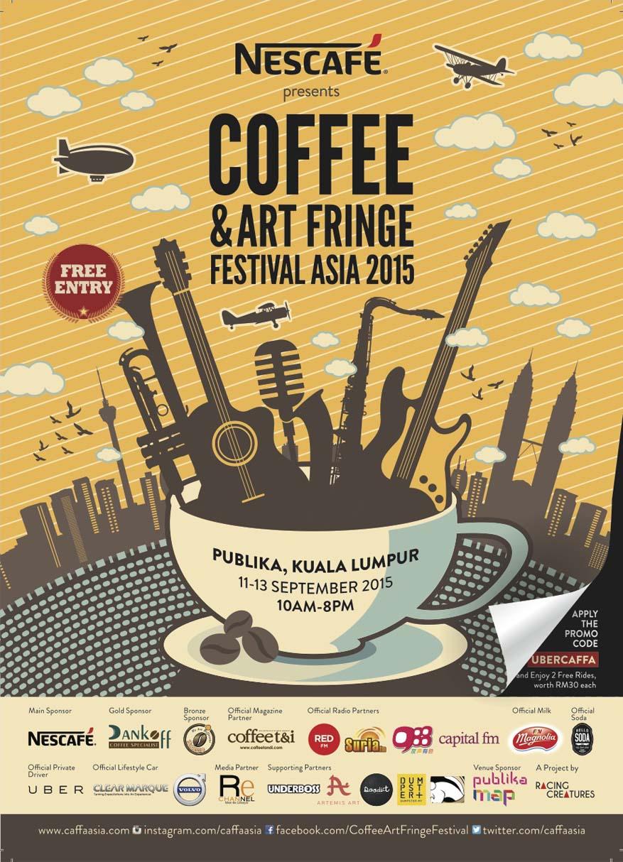 Coffee and Art Fringe Festival Asia, September 2015 @ Publika, Kuala Lumpur
