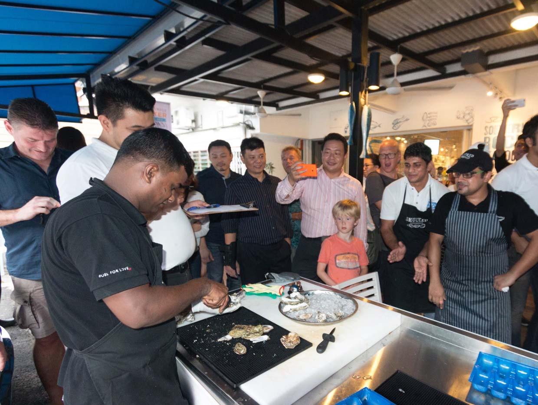 Kuala Lumpur Oyster Festival 2015 & Malaysian Oyster Opening Championship 2016 @ Southern Rock Seafood