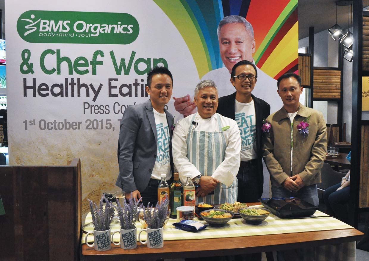 Meat Free Monday With Datuk Chef Wan @ BMS Organics