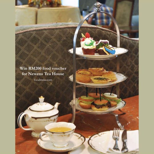 Win RM200 Food Vouchers for Newens Tea House at Starhill Gallery