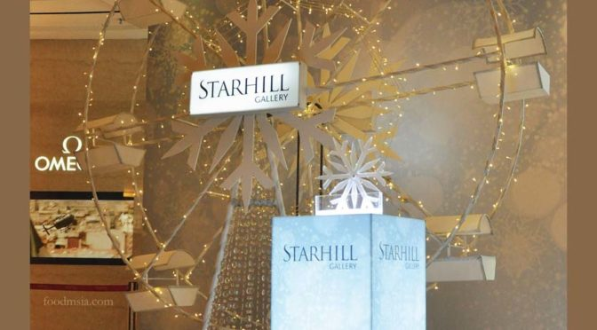 Starhill Gallery's Christmas Charity Drive 2015 with Dignity for Children Foundation