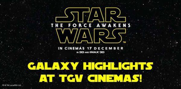 Star Wars: The Force Awakens Promotion @ TGV Cinemas Malaysia