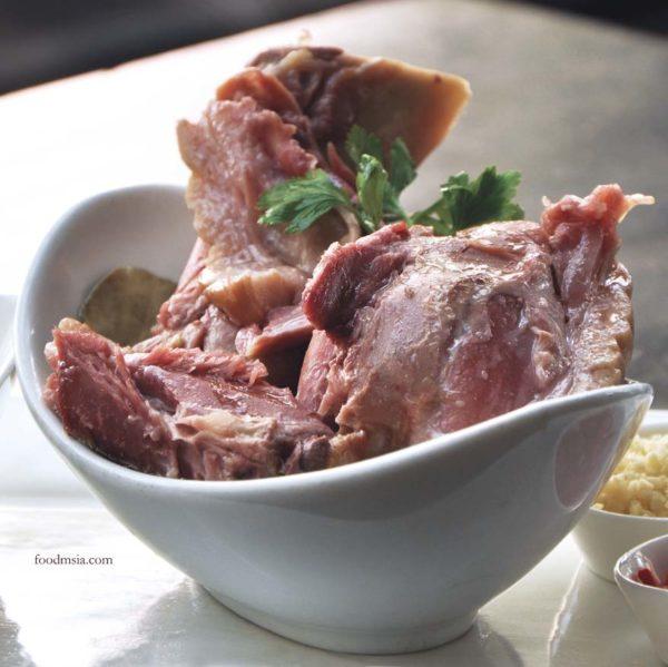 Eisbein, German Cured Pork Knuckle @ Brotzeit Bier Bar & Restaurant Malaysia