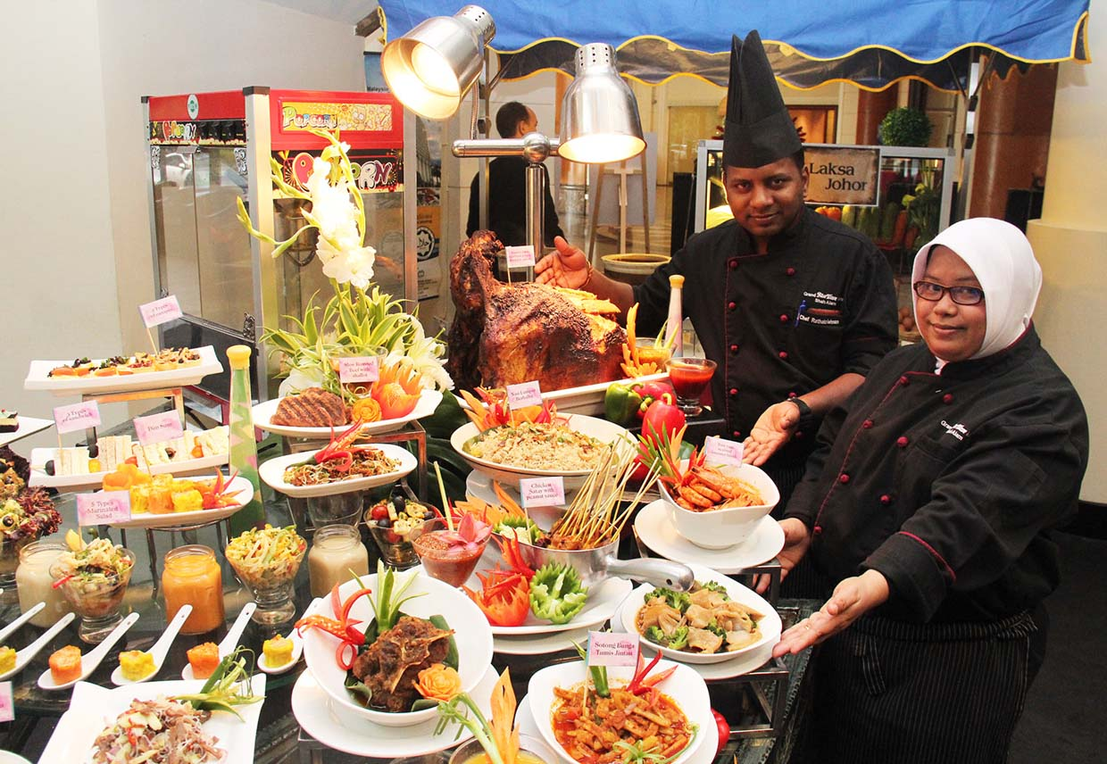 Mother's Day Hi-tea Buffet 2016 @ Royale Songket Restaurant, Grand BlueWave Hotel Shah Alam