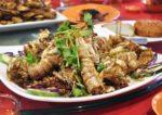 red gold steamboat restaurant taman kasturi batu 11 cheras mantis prawn