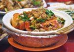 red gold steamboat restaurant taman kasturi batu 11 cheras pork lard baked crab