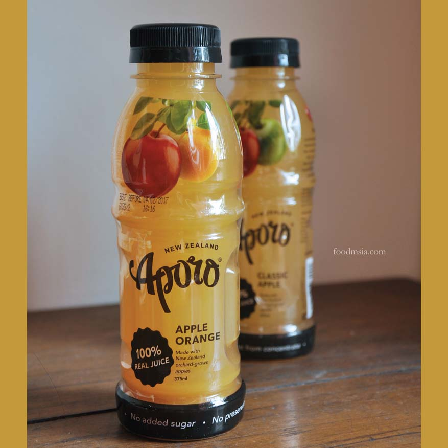 Aporo Juice, a Passionate Blend of the Apples from New Zealand