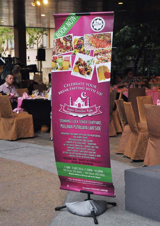 Magical Ramadhan Nights 2016 Pullman Putrajaya Lakeside Voucher Makan Tony Roma S Puri Px Pavillion Food Malaysia