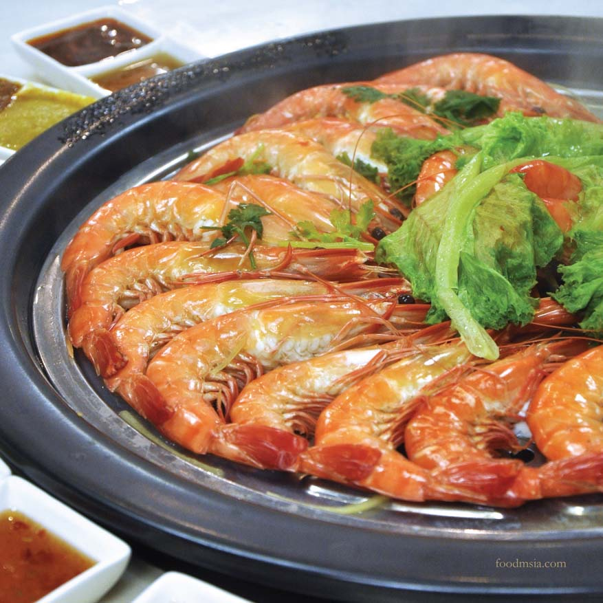 Fresh Seafood Chinese New Year Menu @ KungFu Steam