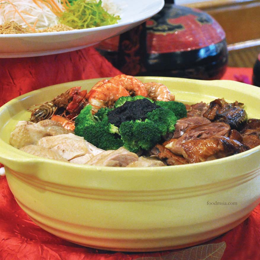 Halal Poon Choy Chinese New Year @ Tung Yuen, Grand BlueWave Hotel Shah Alam