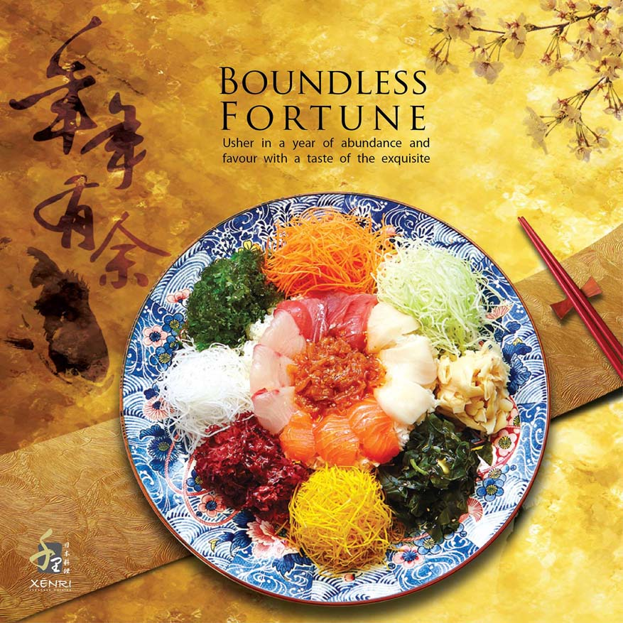 Boundless Fortune Chinese New Year @ Xenri Fine Japanese Cuisine, Kuala Lumpur