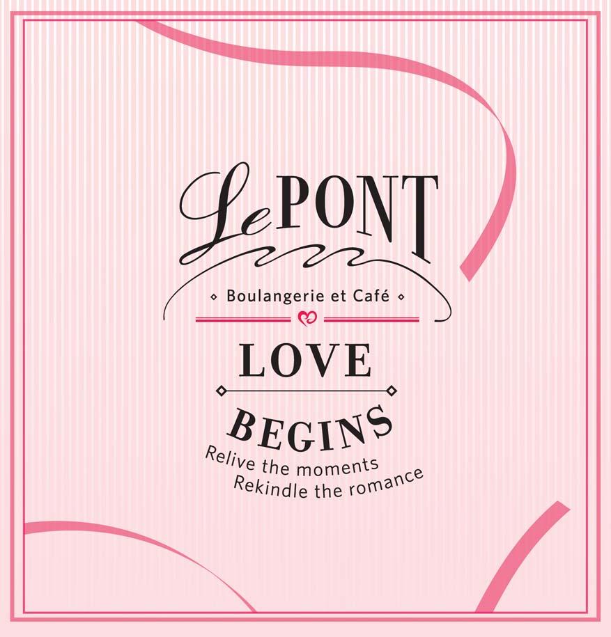 Love Begins Valentine's Day Set Menu @ Le Pont Boulangerie