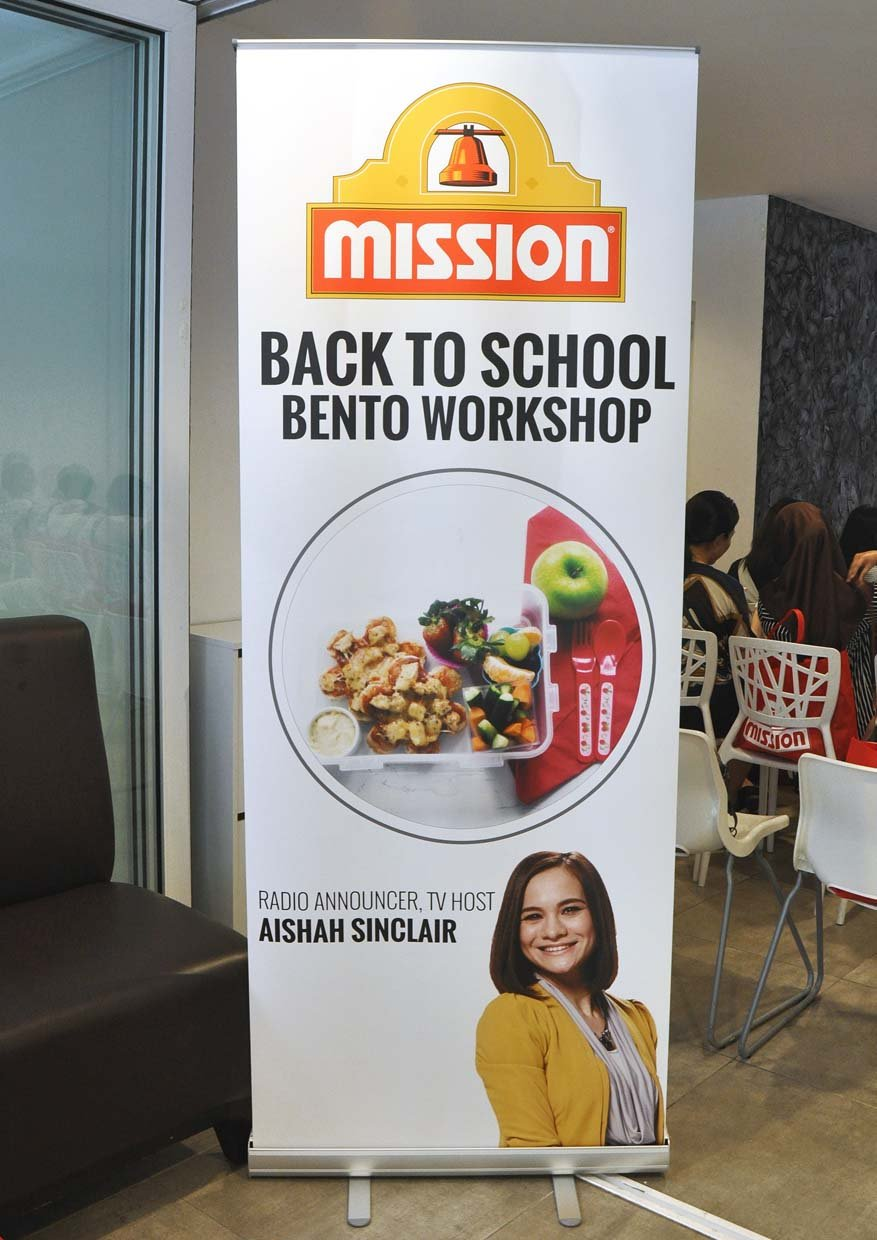 Back to School Bento Workshop by Mission Foods Malaysia