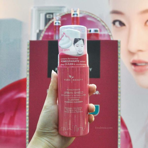 Antioxidant & Anti-Pollution with Pure Beauty Pomegranate Urban Shield