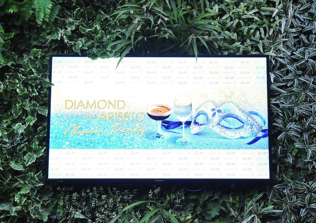 Diamond and Arissto Music Party @ One City Rooftop Grand Ballroom