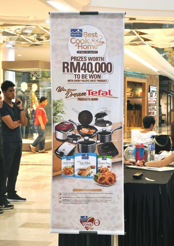 Pacific West's Best Cook Is At Home Cookshow @ Evolve Mall, Ara Damansara