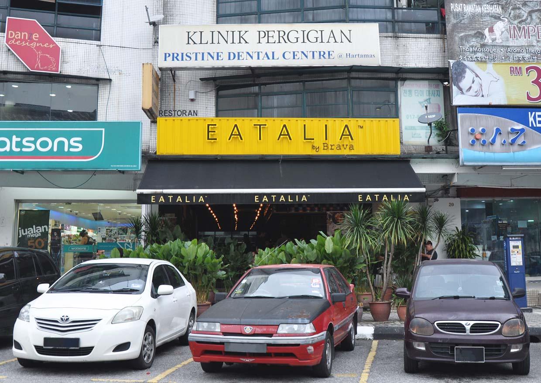 Eatalia Italian Cuisine with Wood Fire Pizza @ Desa Sri Hartamas, Kuala Lumpur