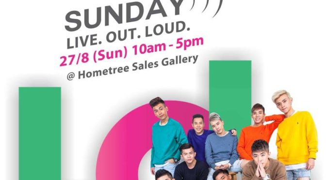 Sunday Live. Out. Loud @ Hometree Sales Gallery, Kota Kemuning