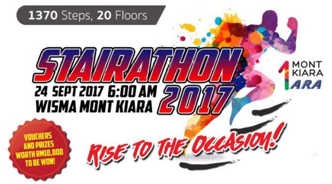 Challenging Stairathon 2017 @ 1 Mont Kiara