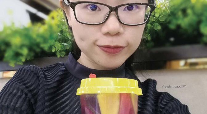 Mystery GotCha, Coconut Milk BloCha & Fruitpucino Coconut Milk @ Hui Lau Shan Malaysia