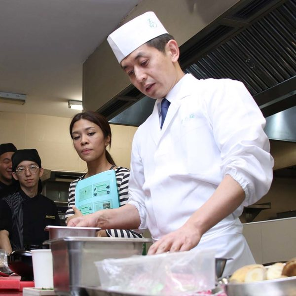 Japanese Culture Through Cuisine Session With Master Chef Mr Takuji Takahashi