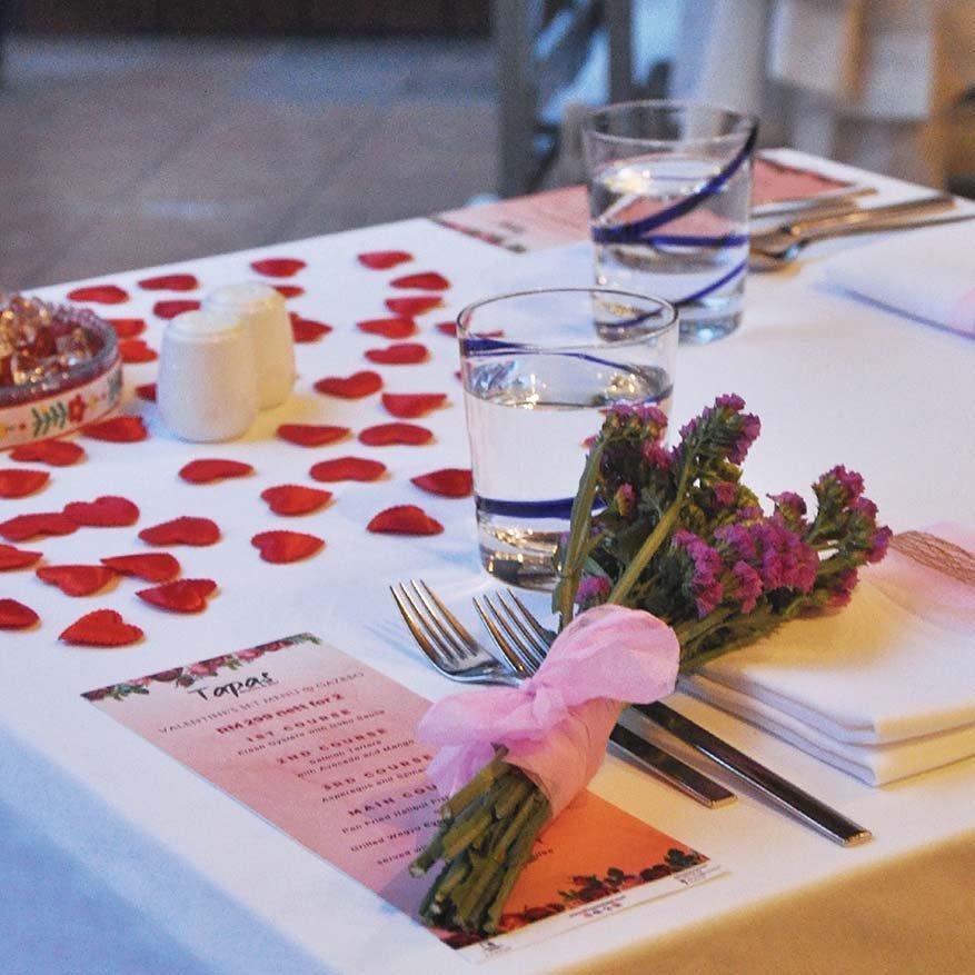 Valentine's Al Fresco Dinner @ Micasa All Suite Hotel, Kuala Lumpur