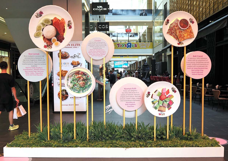 Connection Insta Walk Of Fame @ Journey of Taste, Pavilion KL