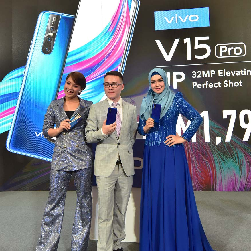 Vivo V15Pro Smartphone With 32MP Elevating Front Camera