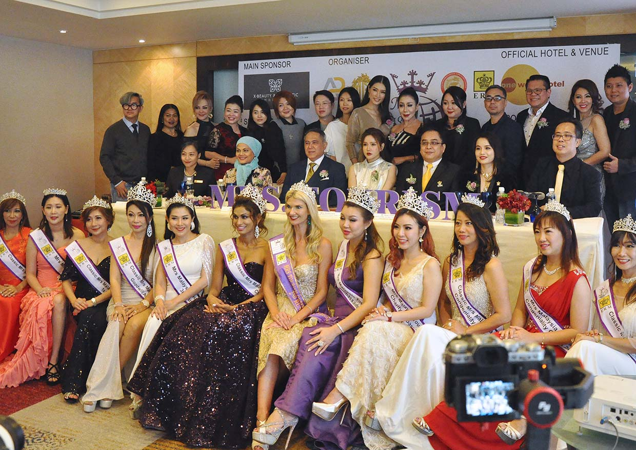Women Empowerment @ Mrs Malaysia Tourism Queen International Pageant 2019