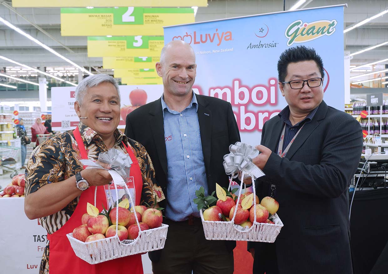 3 Malaysian Dishes Recipes Using New Zealand Luv'ya Ambrosia Apples