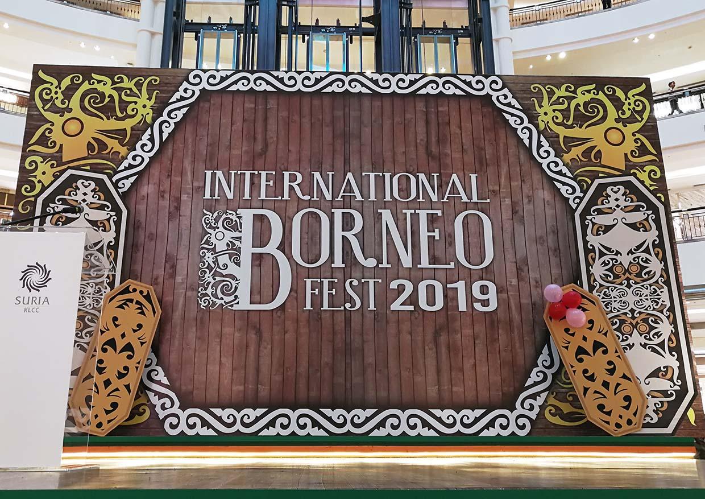 International Borneo Fest @ Suria KLCC, Kuala Lumpur