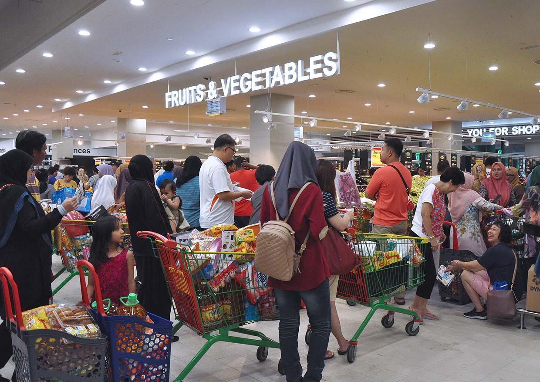 LuLu Hypermarket @ 1 Shamelin Mall, Kuala Lumpur