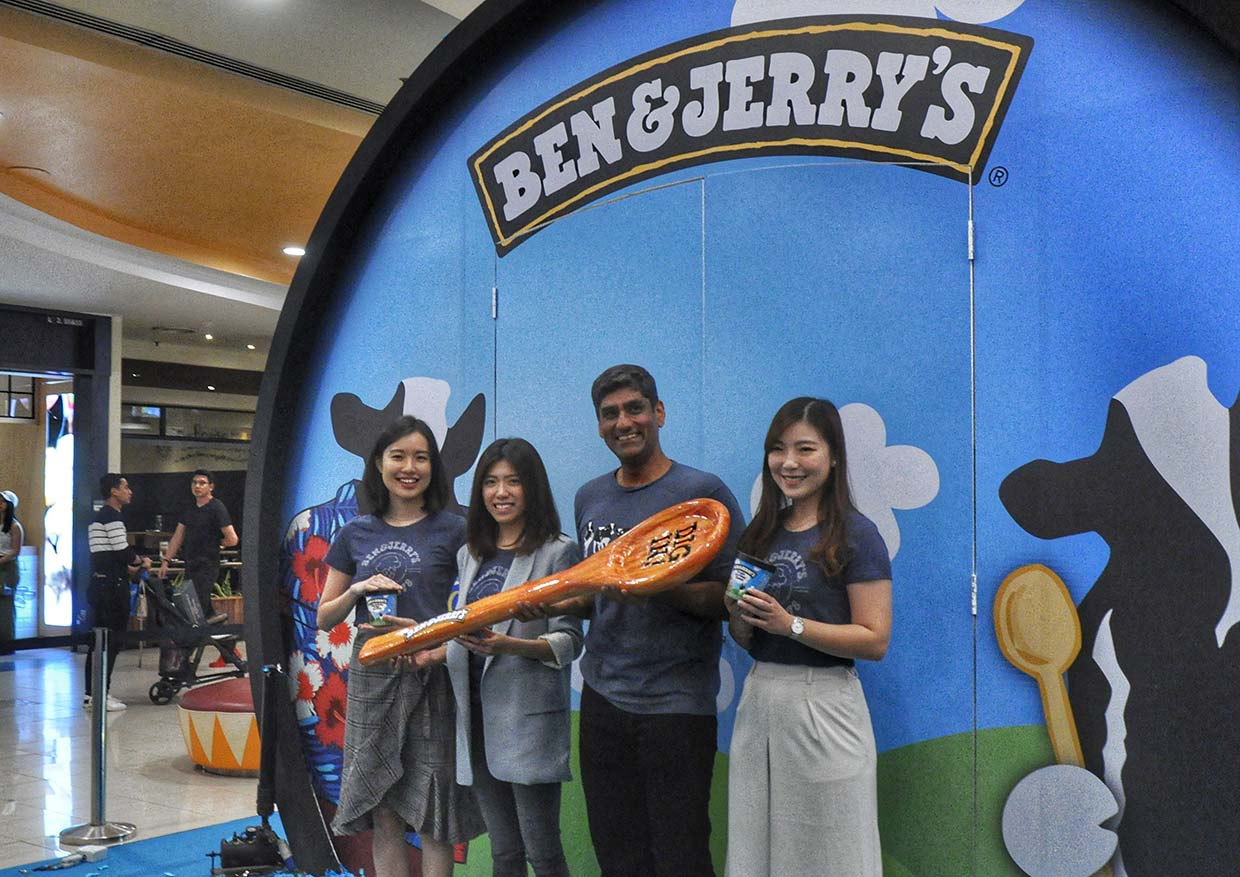 Ben & Jerry's First Scoop Shop In Malaysia @ Sunway Pyramid