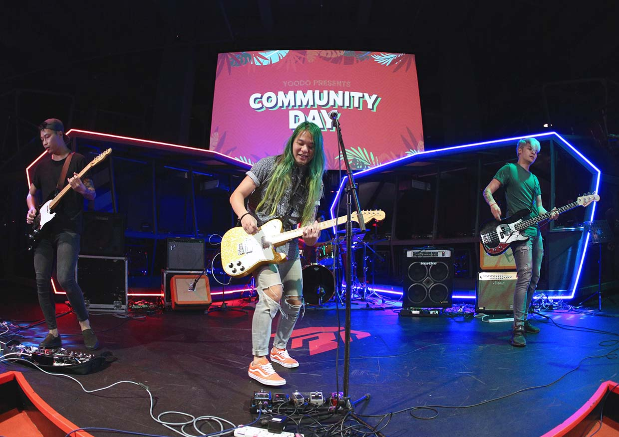 One-Of-A-Kind Concert With Local Indie Bands @ Yoodo Presents
