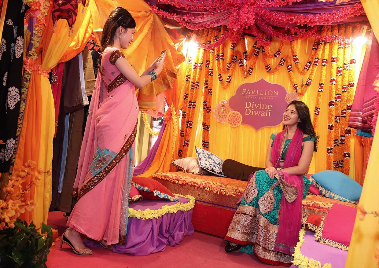 Uniquely Festive Kolams This Deepavali @ Pavilion REIT Malls