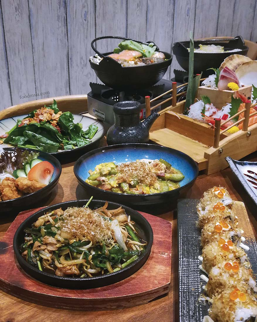My Favourite Japanese Dishes @ Ryoshi Signature, Atria Shopping Gallery