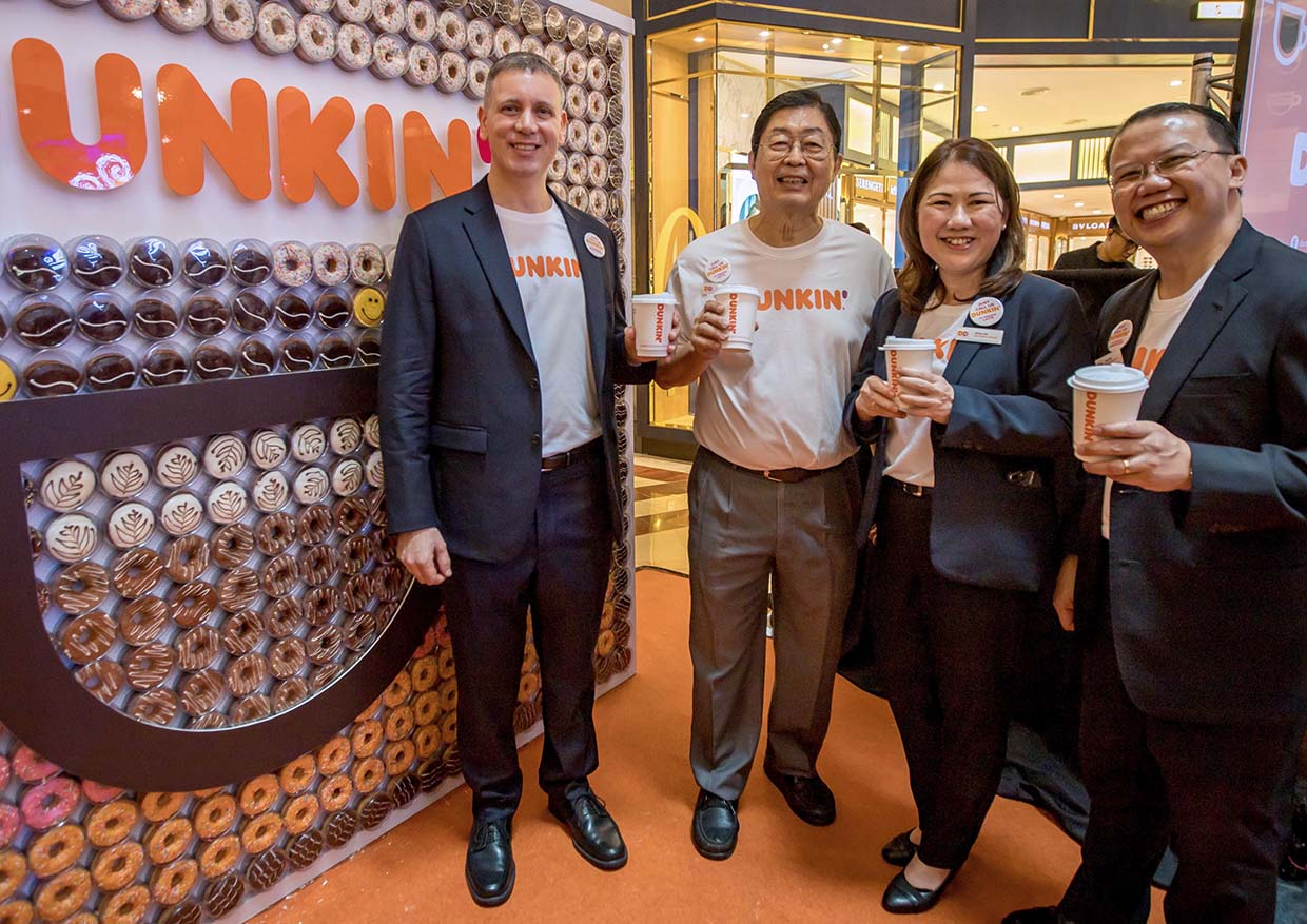 Dunkin' New Outlet With Revamped Brand Identity @ Suria KLCC