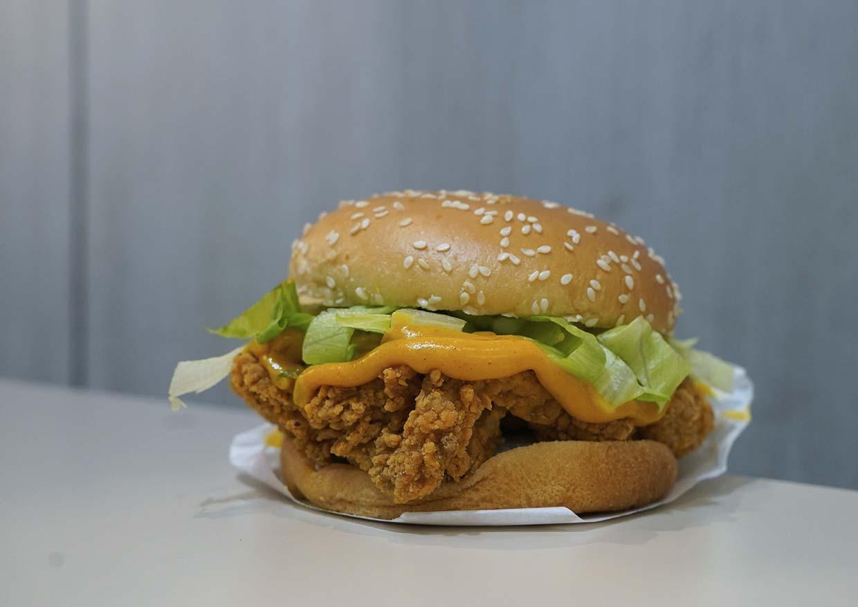 CNY Kongsi Fortune Burger @ Marrybrown