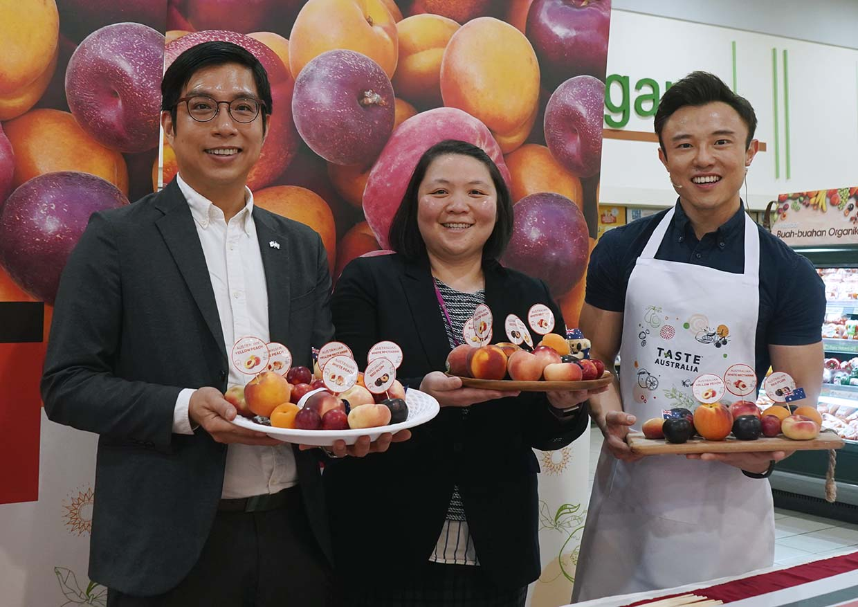 """Celebration of Flavours"" Summer Fruits Campaign by Taste Australia"