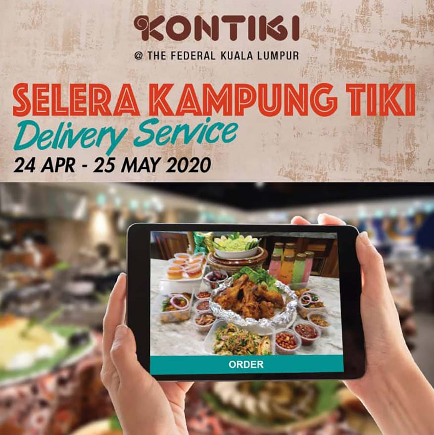 'Selera Kampung Tiki' Ramadan Menu Online Delivery @ The Federal KL