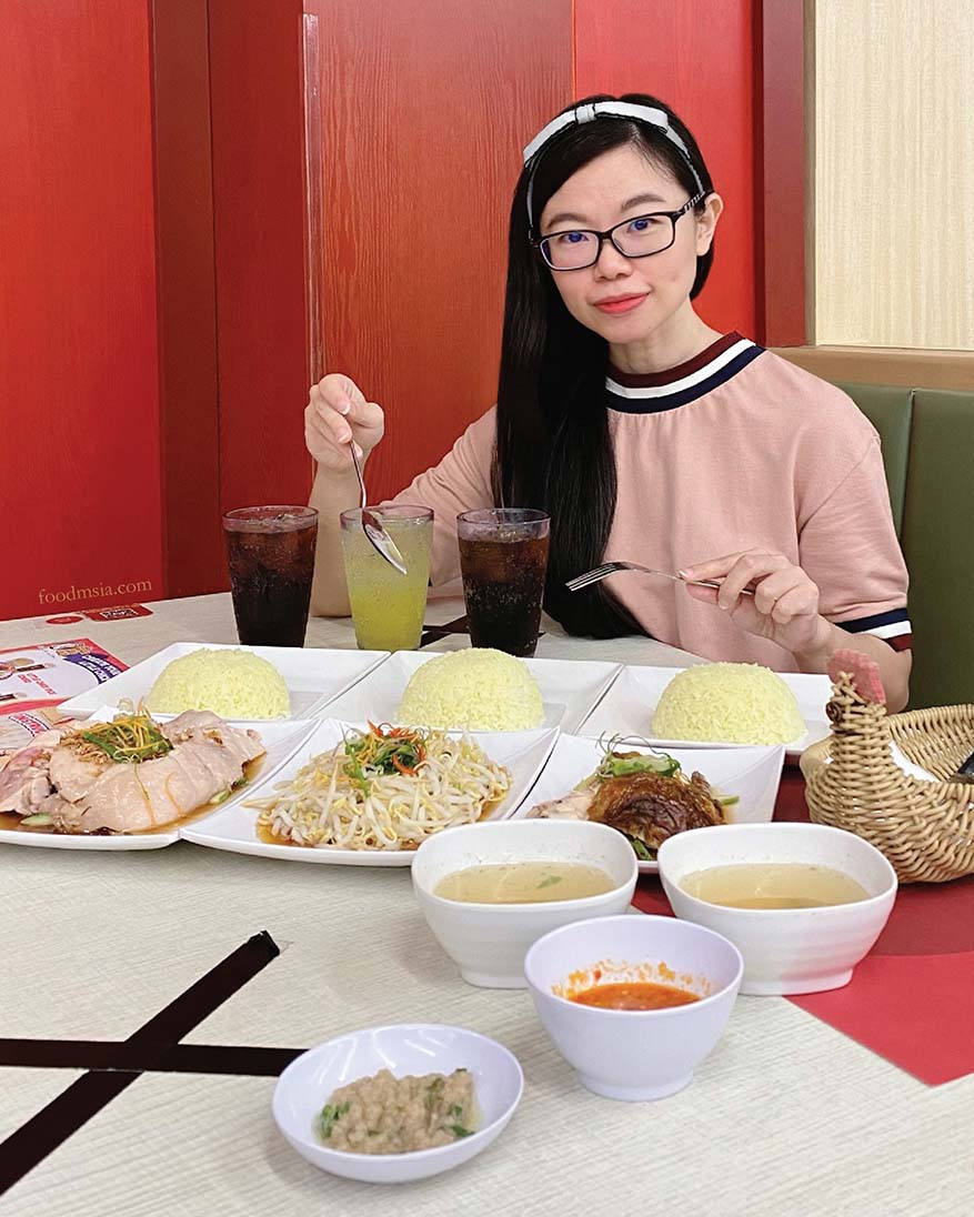 "RM20 For 3 Pax ""Ayam Untuk Semua Meal"" @ The Chicken Rice Shop"