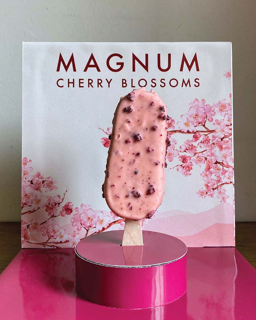Sakura-inspired Indulgence with Magnum Cherry Blossoms