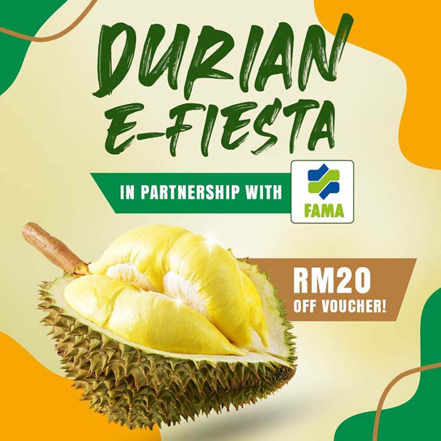 Durian e-Fiesta With More Than 220 offers @ Shopee & FAMA