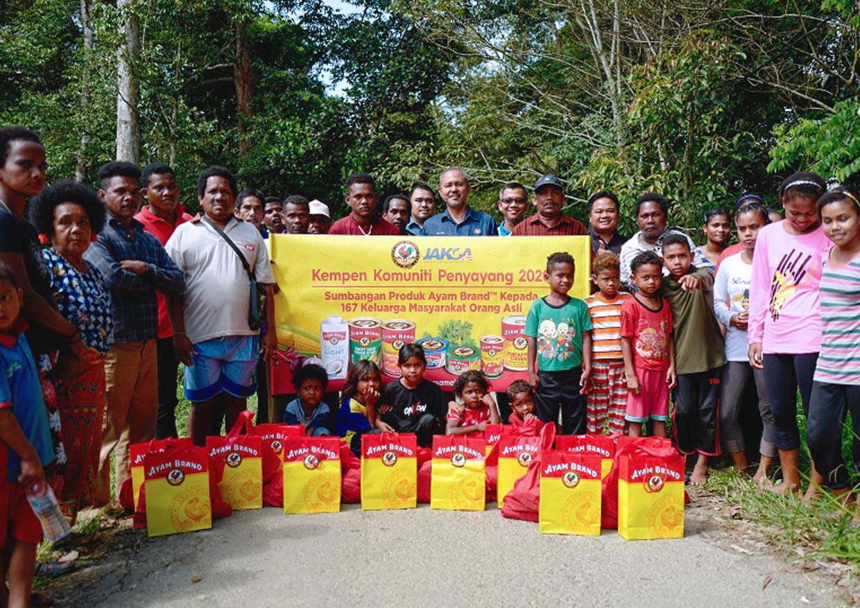 #AyamWithYou Campaign Supports Orang Asli With Healthy Food