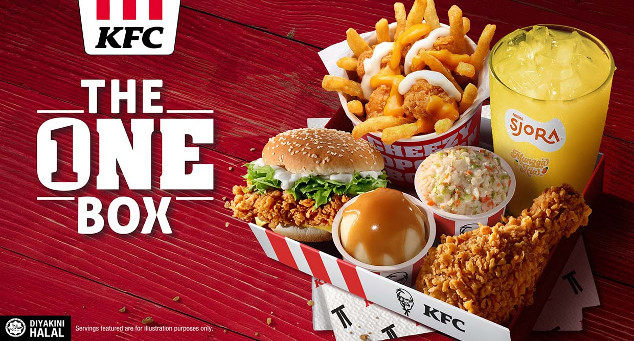 Your Favourite KFC & Pizza Hut Are Available @ GrabFood