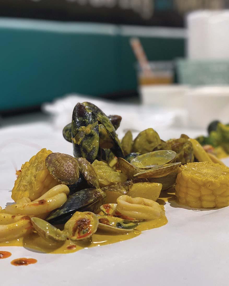 Halal Seafood Boil Restaurant @ Ombak Kitchen, Bangsar